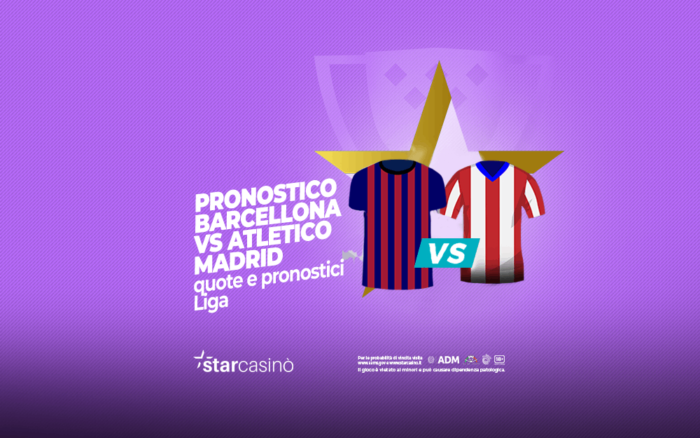Pronostici Barcellona Atletico Madrid