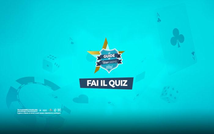 Giochi da casino: il quiz finale