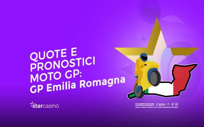 Quote scommesse Moto Gp Emilia Romagna