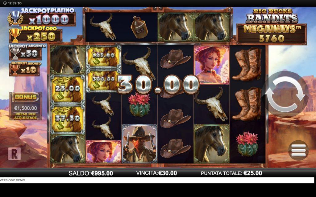 Slot Big Bucks Megaways | StarCasinò