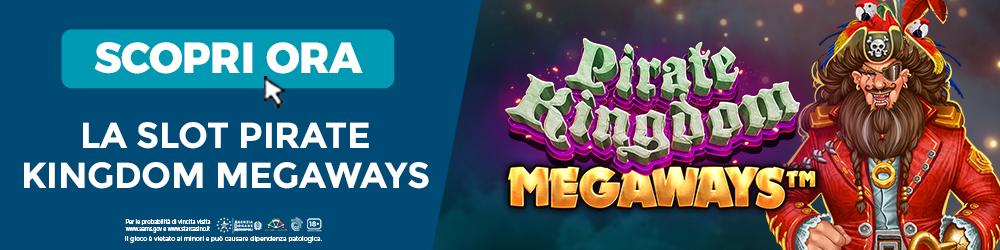 Slot Pirate Kingdom Megaways | StarCasinò