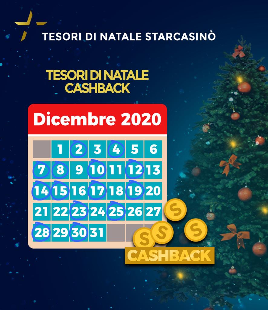 Promozione I tesori di Natale | StarCasinò