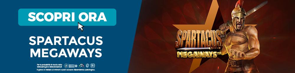 Slot Spartacus Megaways | StarCasinò