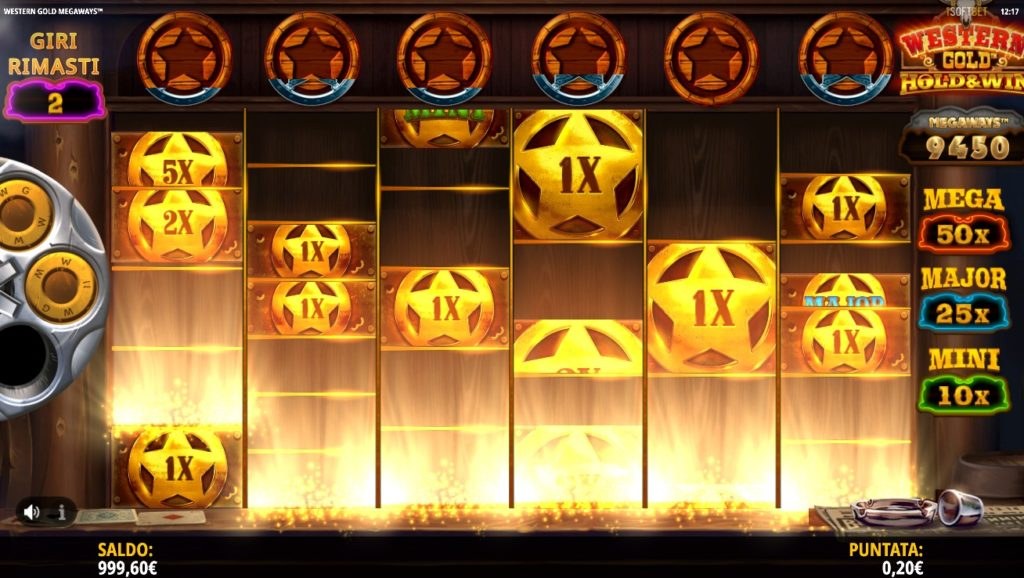 Slot Western Gold Megaways   StarCasinò