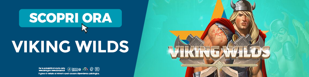 Scopri la Slot Viking Wilds | StarCasinò