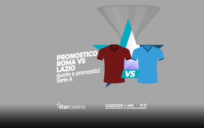 Pronostici Roma Lazio StarCasinò