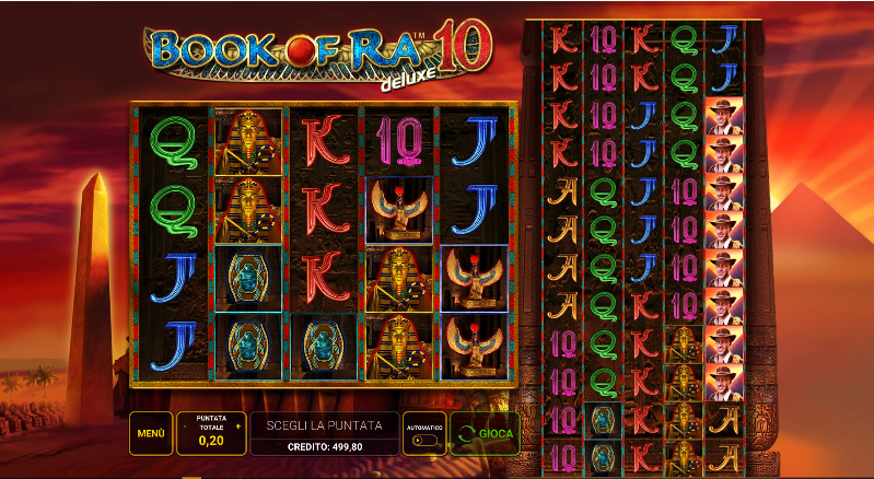 Slot Book of Ra Deluxe 10 | StarCasinò
