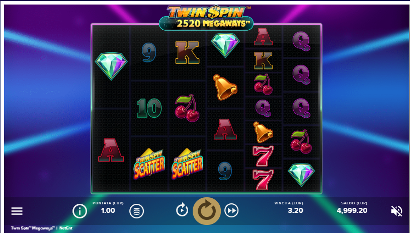 Slot Twin Spin Megaways | StarCasinò