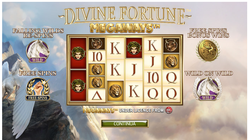 Slot Divine Fortune Megaways | StarCasinò