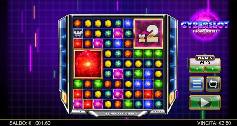 Slot Cyberslot Megaclusters | StarCasinò