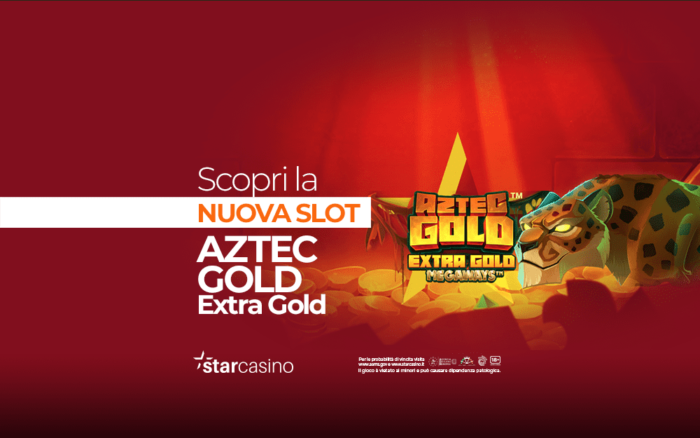 Slot Aztec Gold Extra Gold Megaways: come giocare