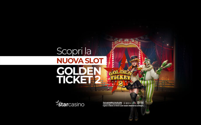 Come giocare alla Slot Golden Ticket 2 su StarCasinò