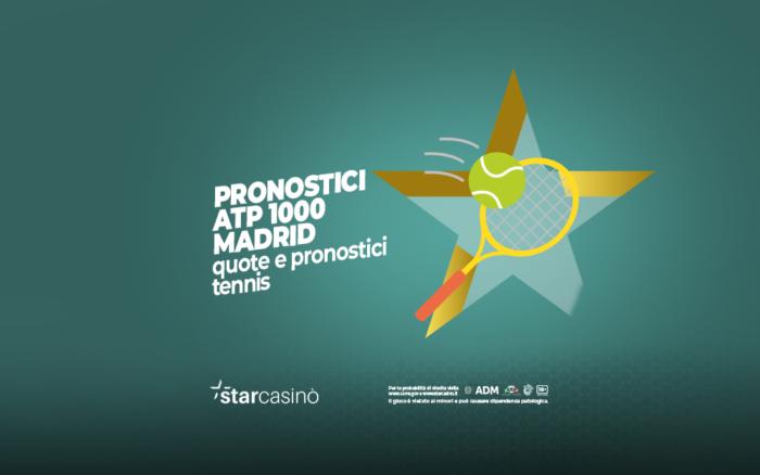 Quote Atp 1000 Madrid Tennis StarCasinò