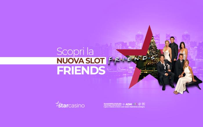 Slot tutorial: come giocare alla slot di Friends