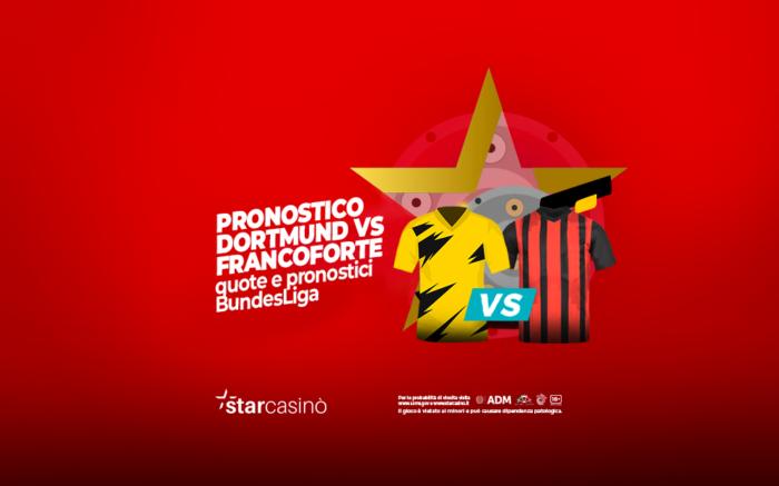 Pronostico Borussia Dortmund Francoforte