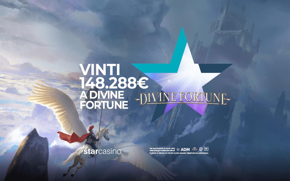 Vinti a Roma 148.288€ alla slot Divine Fortune