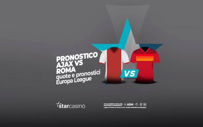 Pronostico Ajax Roma StarCasinò