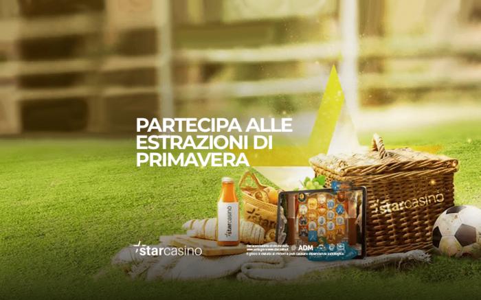 Bonus Primavera Montepremi 40.000€ StarCasinò