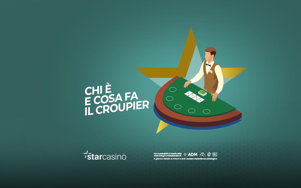 Croupier Casinò Live