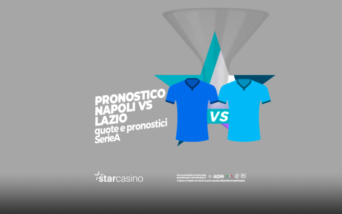 Quote e pronostici Napoli Lazio StarCasinò