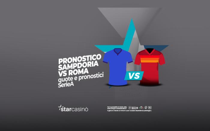 Pronostici Sampdoria Roma StarCasinò