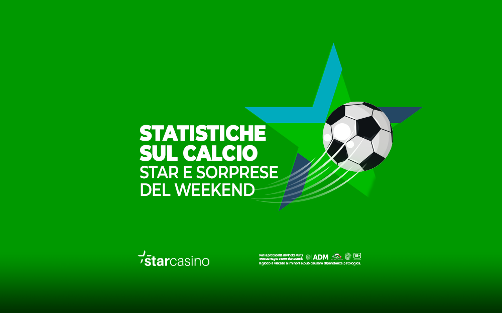 Statistiche e pronostici calcio StarCasinò | Le scommesse del weekend