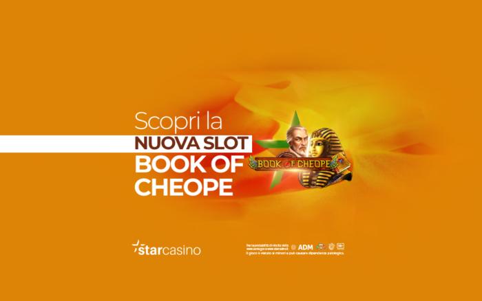 Book of Cheope StarCasinò