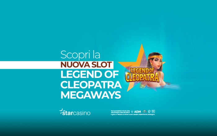 Legend Of Cleopatra Megaways StarCasinò