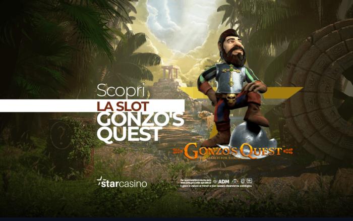 Gonzo's Quest Slot Machine StarCasinò