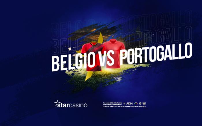 Belgio Portogallo Ottavi Europei