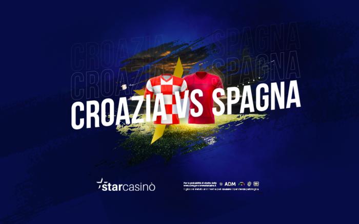 Croazia Spagna Ottavi Europei