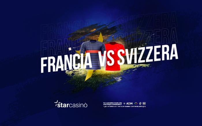 Francia Svizzera Ottavi Europei