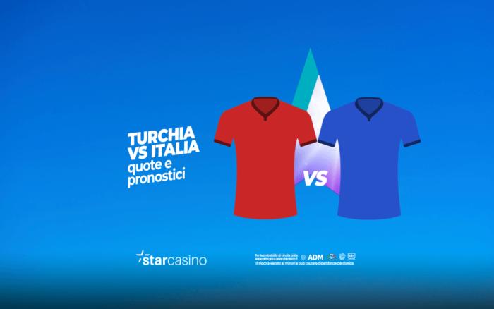 Turchia vs Italia quote e pronostici StarCasinò