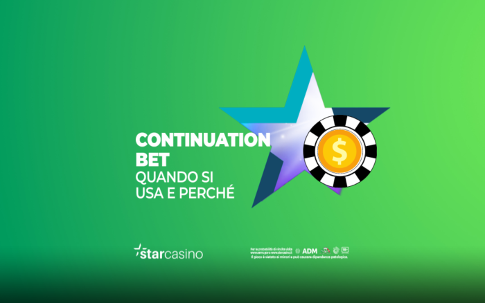 Continuation Bet Poker StarCasinò