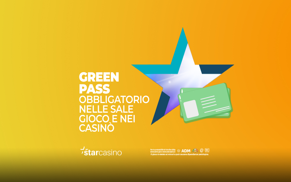 Green Pass Casinò StarCasinò