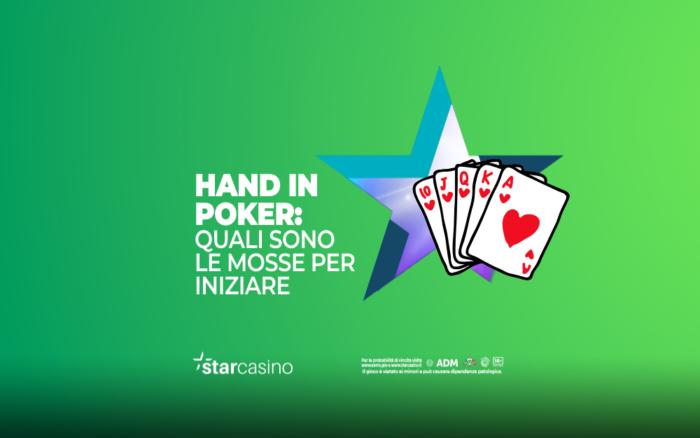 Hand in Poker StarCasinò