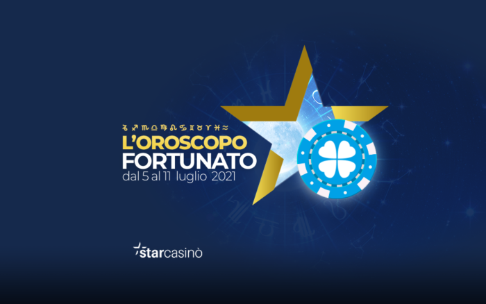 Oroscopo fortunato 5-11 luglio StarCasinò