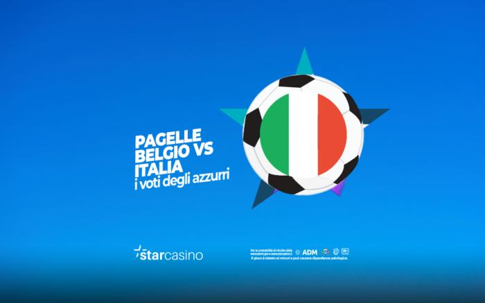 pagelle belgio italia