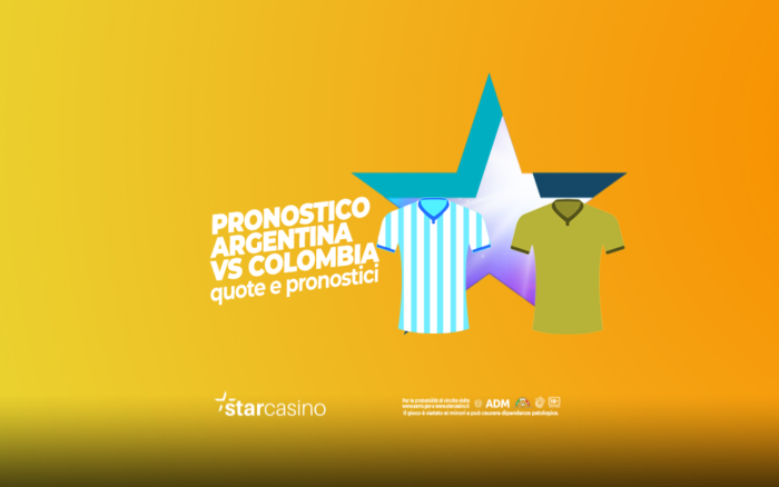 Pronostici Argentina - Colombia StarCasinò