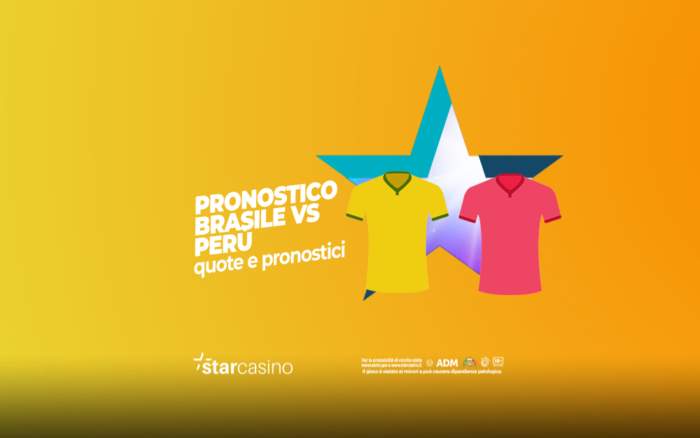 Pronostici Brasile - Perù StarCasinò
