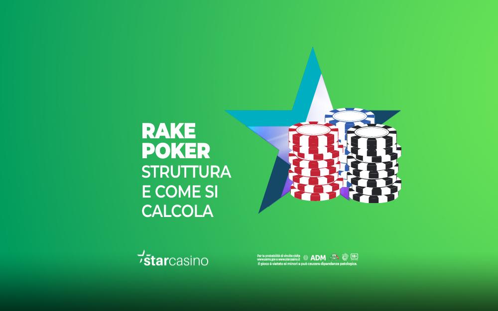 Rake Poker StarCasinò