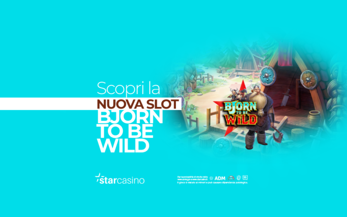 bjorn to be wild StarCasinò