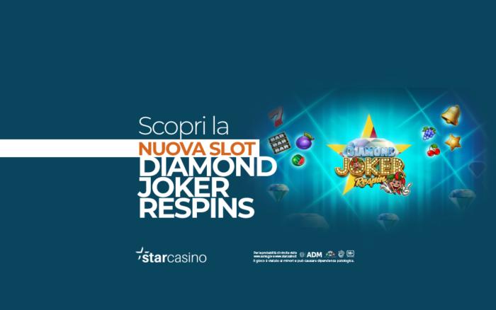 Diamond Joker Respins StarCasinò