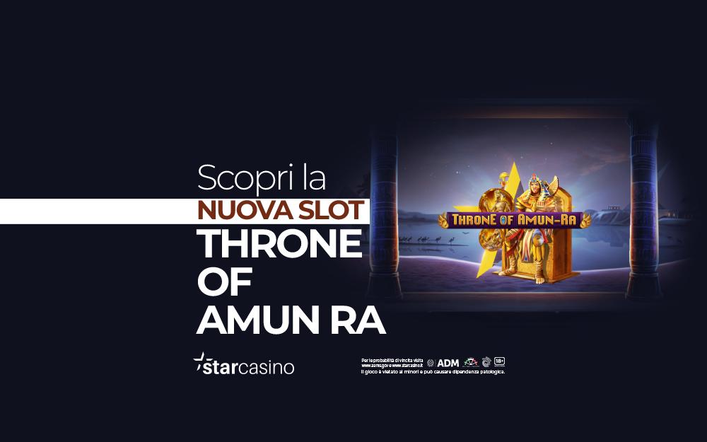 Throne of Amun Ra StarCasinò