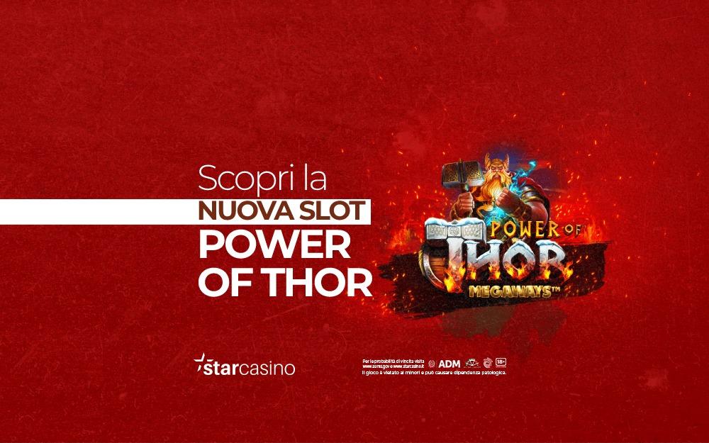 Power of Thor StarCasinò