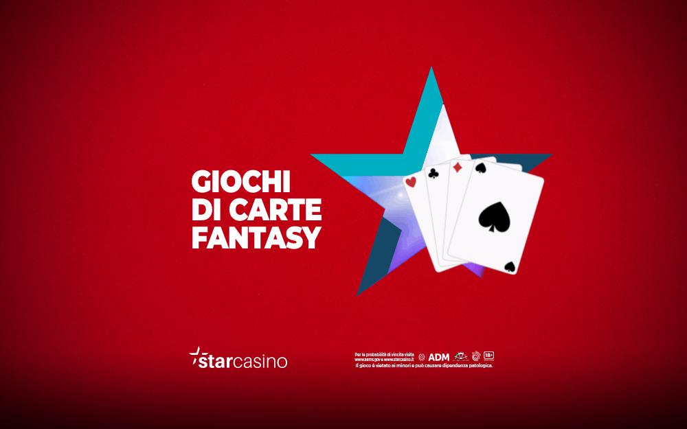 giochi carte fantasy starcasinò
