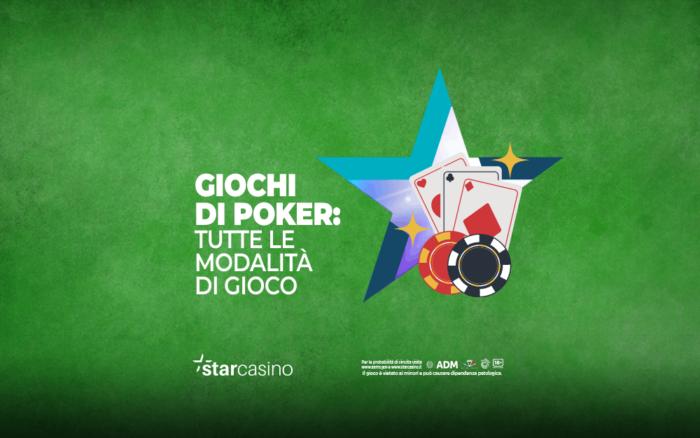 giochi di poker StarCasinò
