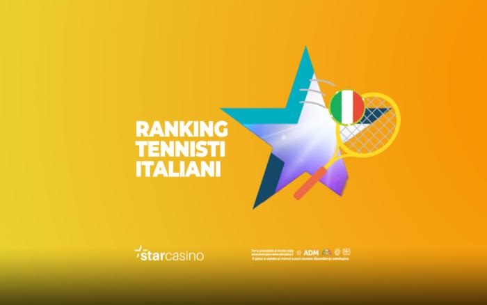 ranking tennisti italiani StarCasinò