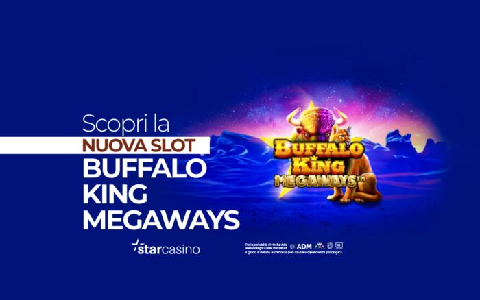 bufalo king megaways starcasinò