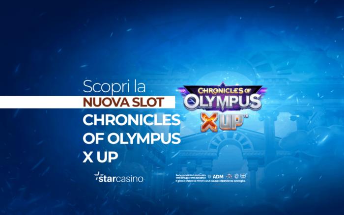 chronicles of olympus x up StarCasinò